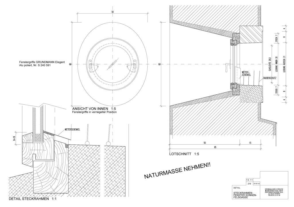 Details Steckrahmenfenster 07-07-19 219 Details Steckrahmenfenst
